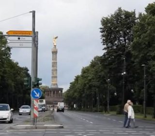 Один из главных символов Берлина — колонна Победы. Золотая Эльза