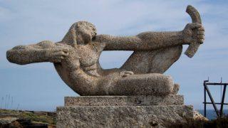 Памятник лучнику на мысе Калиакра, Болгария