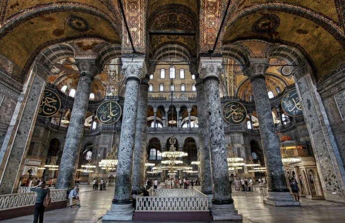 Собор Святой Софии в Стамбуле (Константинополе) история